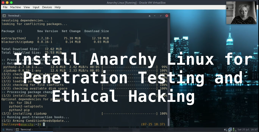 Install Anarchy Linux for Penetration Testing and Ethical Hackin
